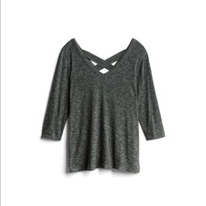 Stitch Fix Kaileigh Luciana Back Detail Knit Top
